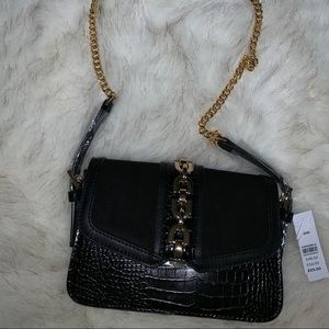TOPSHOP Casey Chain Crossbody Bag